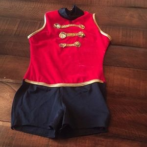 Toy soldier dance costume